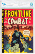 Golden Age (1938-1955):War, Frontline Combat #6 Gaines File pedigree 8/9 (EC, 1952) CBCS NM+9.6 White pages....