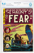 Golden Age (1938-1955):Horror, Haunt of Fear #28 Gaines File pedigree 6/12 (EC, 1954) CBCS NM 9.4Off-white to white pages....