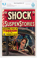 Golden Age (1938-1955):Horror, Shock SuspenStories #4 Gaines File pedigree 3/12 (EC, 1952) CBCSNM- 9.2 White pages....