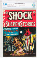 Golden Age (1938-1955):Horror, Shock SuspenStories #6 (EC, 1952) CBCS VF/NM 9.0 Off-white to whitepages....