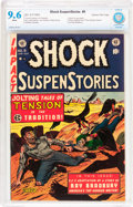 Golden Age (1938-1955):Horror, Shock SuspenStories #9 Gaines File pedigree 4/11 (EC, 1953) CBCSNM+ 9.6 White pages....