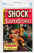 Golden Age (1938-1955):Horror, Shock SuspenStories #14 Gaines File pedigree 7/12 (EC, 1954) CBCSNM 9.4 Off-white to white pages....