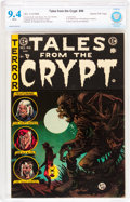 Golden Age (1938-1955):Horror, Tales From the Crypt #46 Gaines File pedigree 11/11 (EC, 1955) CBCSNM 9.4 White pages....