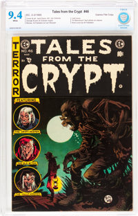 Tales From the Crypt #46 Gaines File pedigree 11/11 (EC, 1955) CBCS NM 9.4 White pages