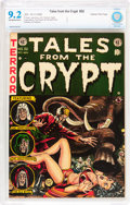 Golden Age (1938-1955):Science Fiction, Tales From the Crypt #32 Gaines File pedigree 12/12 (EC, 1952) CBCSNM- 9.2 Off-white to white pages....