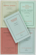 Books:Reference & Bibliography, Group of Five Pall Mall Bibliographies. Dawson, [variousdates, circa 1975].... (Total: 5 Items)