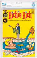 Silver Age (1956-1969):Humor, Richie Rich #1 (Harvey, 1960) CBCS NM+ 9.6 Off-white to white pages....