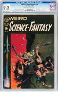 Golden Age (1938-1955):Science Fiction, Weird Science-Fantasy #29 (EC, 1955) CGC NM- 9.2 Off-white to whitepages....