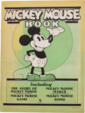 Platinum Age (1897-1937):Miscellaneous, Mickey Mouse Book - Later Printing (Bibo & Lang, 1931)Condition: FN+....