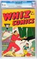 Whiz Comics #8 Allentown pedigree (Fawcett Publications, 1940) CGC NM+ 9.6 Off-white to white pages