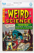 Golden Age (1938-1955):Science Fiction, Weird Science #14 (#3) (EC, 1950) CBCS VF/NM 9.0 Off-white to whitepages....