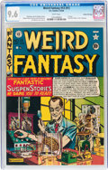 Golden Age (1938-1955):Science Fiction, Weird Fantasy #13 (#1) Gaines File pedigree 4/10 (EC, 1950) CGC NM+9.6 White pages....
