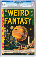 Golden Age (1938-1955):Science Fiction, Weird Fantasy #17 (#5) Gaines File pedigree 9/9 (EC, 1951) CGC NM+9.6 White pages....