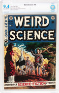 Golden Age (1938-1955):Science Fiction, Weird Science #14 (EC, 1952) CBCS NM 9.4 Cream to off-whitepages....