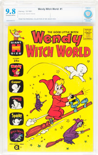 Wendy Witch World #1 (Harvey, 1961) CBCS NM/MT 9.8 Off-white to white pages