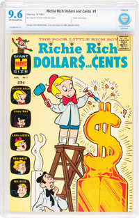 Richie Rich Dollars and Cents #1 (Harvey, 1963) CBCS NM+ 9.6 Off-white to white pages