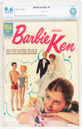 Silver Age (1956-1969):Romance, Barbie and Ken #1 (Dell, 1962) CBCS NM+ 9.6 Off-white to white pages....