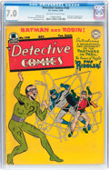 Golden Age (1938-1955):Superhero, Detective Comics #140 (DC, 1948) CGC FN/VF 7.0 Off-white to white pages....