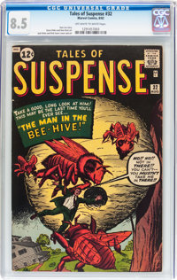 Tales of Suspense #32 (Marvel, 1962) CGC VF+ 8.5 Off-white to white pages