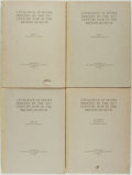 Books:Reference & Bibliography, [Reference]. Catalogue of Books Printed in the XVth Century Now in the British Museum. London: The Trustees of the B... (Total: 4 Items)