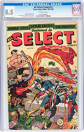 Golden Age (1938-1955):Superhero, All Select Comics #5 (Timely, 1944) CGC VF+ 8.5 Off-white pages....