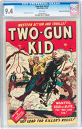 Golden Age (1938-1955):Western, Two-Gun Kid #1 Mile High Pedigree (Marvel, 1948) CGC NM 9.4 Whitepages....
