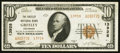 National Bank Notes:Colorado, Greeley, CO - $10 1929 Ty. 2 The Greeley NB Ch. # 13928. ...