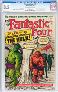 Silver Age (1956-1969):Superhero, Fantastic Four #12 (Marvel, 1963) CGC VF+ 8.5 Off-white to whitepages....