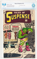 Silver Age (1956-1969):Science Fiction, Tales of Suspense #37 (Marvel, 1963) CBCS VF/NM 9.0 White pages....
