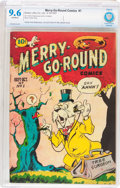 Golden Age (1938-1955):Funny Animal, Merry-Go-Round Comics V1#1 (Rotary, 1947) CBCS NM+ 9.6 Off-whitepages....
