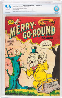 Merry-Go-Round Comics V1#1 (Rotary, 1947) CBCS NM+ 9.6 Off-white pages