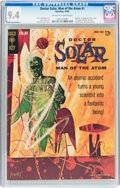Silver Age (1956-1969):Science Fiction, Doctor Solar #1 (Gold Key, 1962) CGC NM 9.4 Off-white to whitepages....