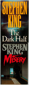 Books:Horror & Supernatural, Stephen King. Pair of First Editions. New York: Viking, 1987, 1989.... (Total: 2 Items)