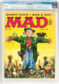 Magazines:Mad, Mad #43 Gaines File pedigree (EC, 1958) CGC NM/MT 9.8 Off-white to white pages....
