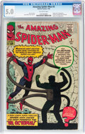 Silver Age (1956-1969):Superhero, The Amazing Spider-Man #3 (Marvel, 1963) CGC VG/FN 5.0 Off-white pages....