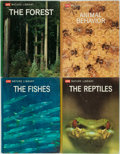 Books:Science & Technology, Four Volumes from the Life: Nature Library. New York: Time-Life Books, 1963-1968. ... (Total: 4 Items)