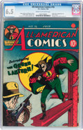 Golden Age (1938-1955):Superhero, All-American Comics #16 (DC, 1940) CGC FN+ 6.5 Cream to off-white pages....
