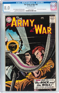 Our Army at War #83 (DC, 1959) CGC VF 8.0 Off-white to white pages