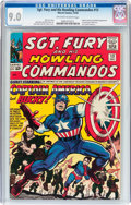 Silver Age (1956-1969):Superhero, Sgt. Fury and His Howling Commandos #13 (Marvel, 1964) CGC VF/NM 9.0 Off-white to white pages....