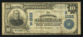 National Bank Notes:Virginia, Lynchburg, VA - $10 1902 Plain Back Fr. 625 The Lynchburg NB Ch. #(S)1522. ...
