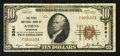 National Bank Notes:Tennessee, Athens, TN - $10 1929 Ty. 1 The First NB Ch. # 3341. ...