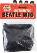 Music Memorabilia:Memorabilia, A Beatles Vintage Beatle Wig in Original Packaging By Lowell Toy(US, 1964)....