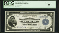 Fr. 798 $5 1918 Federal Reserve Bank Note PCGS Choice About New 58