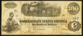 "Confederate Notes:1862 Issues, Manuscript Endorsement ""Captain J.G. M. Ramsey"" T40 $100 1862 PF-1Cr. 298.. ..."