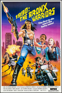 """1990: The Bronx Warriors (United Film Distribution, 1982). One Sheet (27"""" X 41""""). Action"""