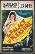 "Movie Posters:Adventure, The Palace of Pleasure (Fox, 1926). Window Card (14"" X 22"").Adventure.. ..."