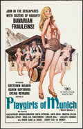 "Movie Posters:Adult, Playgirls of Munich & Other Lot (ASOM Distributing, 1977). One Sheets (2) (27"" X 41""). Adult.. ... (Total: 2 Items)"