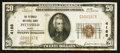 National Bank Notes:Maine, Pittsfield, ME - $20 1929 Ty. 1 The Pittsfield NB Ch. # 4188. ...