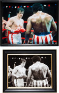 "Movie/TV Memorabilia:Props, A Group of Prop Photographs from ""Rocky Balboa"" (aka ""RockyVI"").... (Total: 4 Items)"