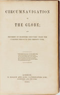 Books:Travels & Voyages, [Travels & Voyages]. Circumnavigation of the Globe; and Progress of Maritime Discovery from the Earliest Period to the P...